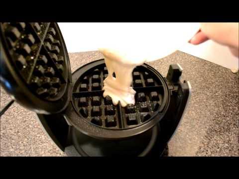 Oster DuraCeramic Flip Belgian Waffle Maker Unboxing & Review