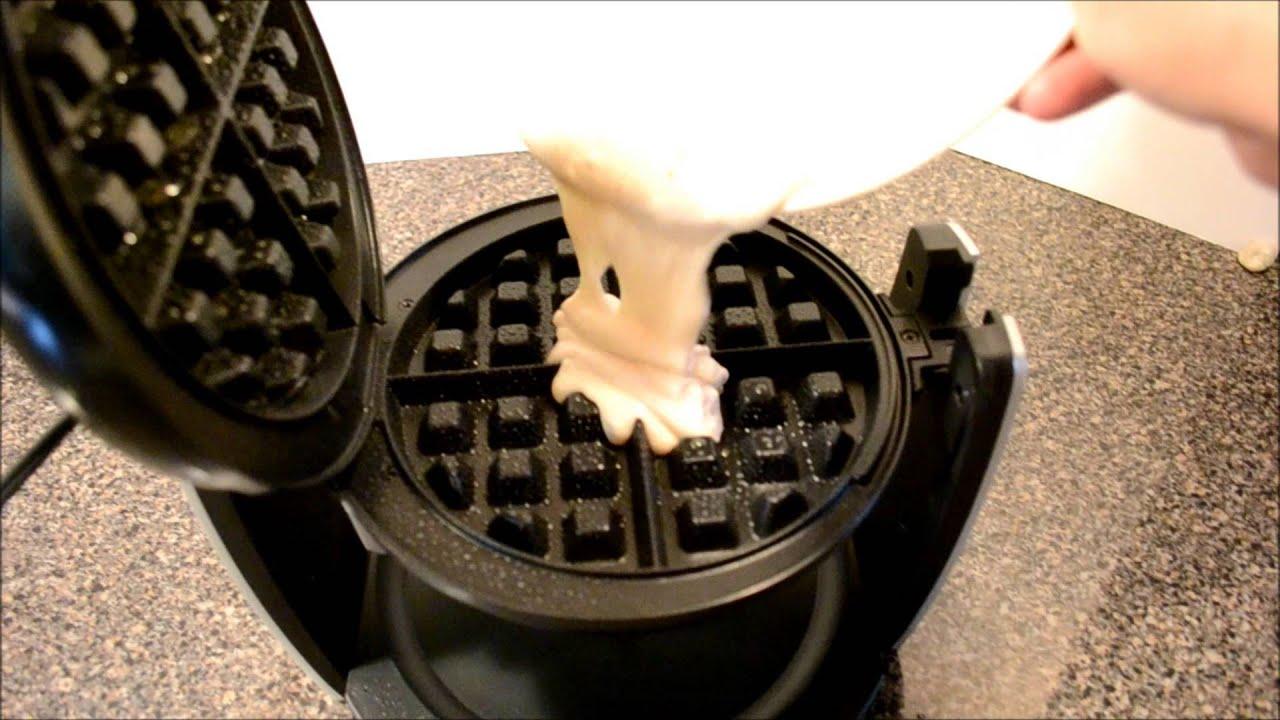 Oster Duraceramic Flip Belgian Waffle Maker Unboxing Review Youtube