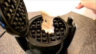 Oster DuraCeramic Flip Belgian Waffle Maker Unboxing & Review