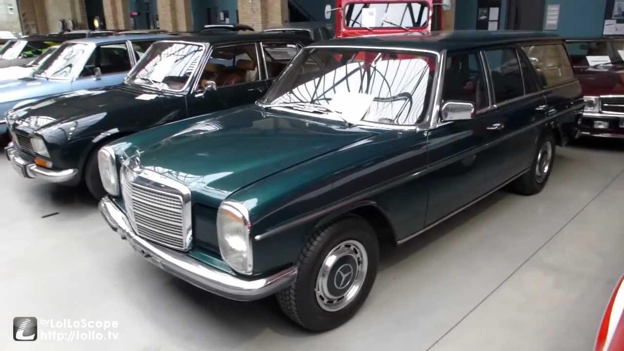 Mercedes benz model typ w115 strich 8 kombi station for Mercedes benz hatchback models