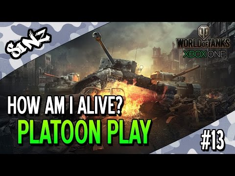 HOW AM I ALIVE? - World of Tanks Console | Platoon Play #13