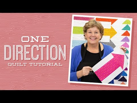 "Make a  ""One Direction"" Quilt with Jenny!"