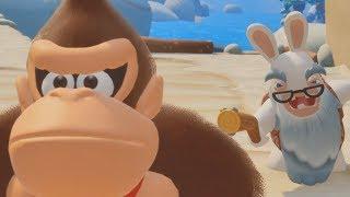 Mario + Rabbids Donkey Kong Adventure - The Movie All Cutscenes HD