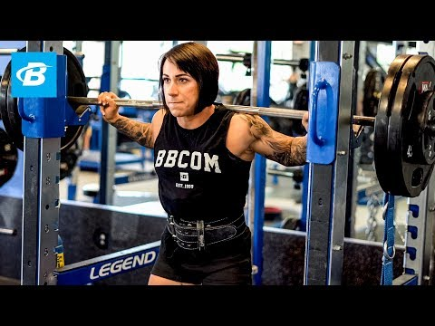 How the Strongest Female Powerlifter in History Trains Legs | Laura Phelps