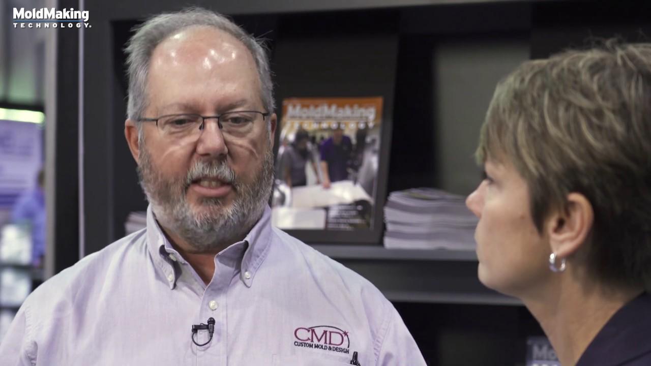 VIDEO: Custom Mold & Design Talks Hybrid Additive Manufacturing