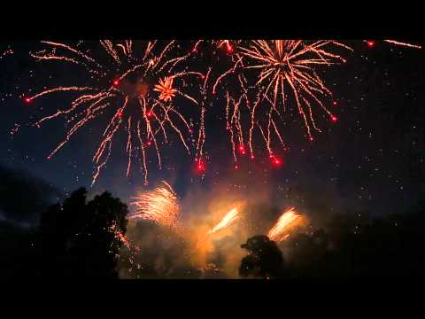 Leicestershire wedding Fireworks