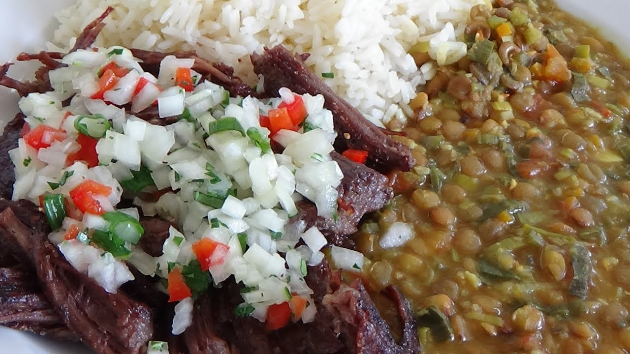 Vaca frita, Жареная корова,кубинский рецепт.