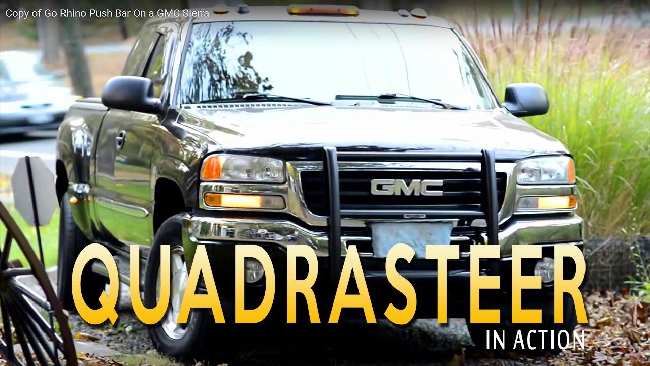 Quadrasteer In Action 2005 Gmc Sierra 4 Wheel Steering