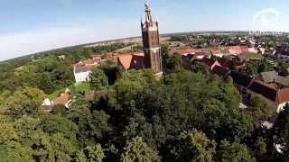 Der Wörlitzer Park aus der Luft - The Dessau-Woerlitz garden realm from above