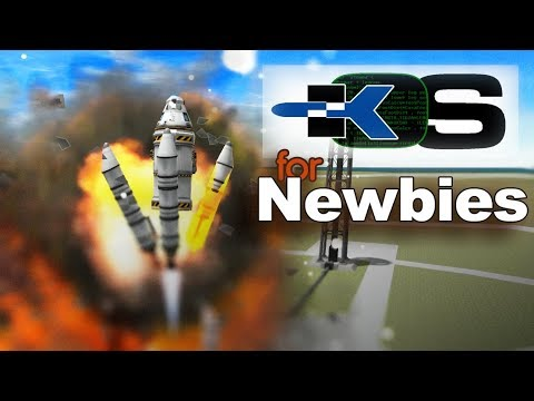 KOS Mod For Newbies - Getting Started With KOS For Kerbal Space Program