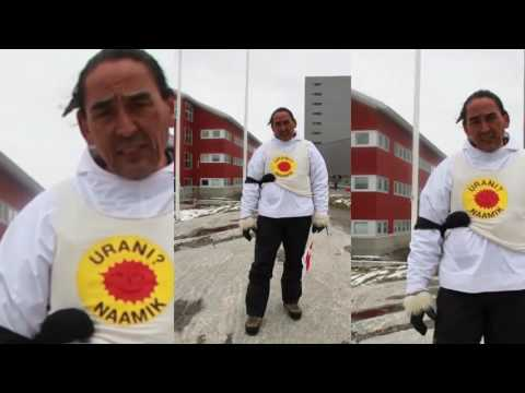 Inuit Nation Uranium Demonstration
