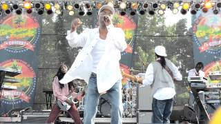 Beres Hammond Perform Live @ Grooving In The Park In Queens New York