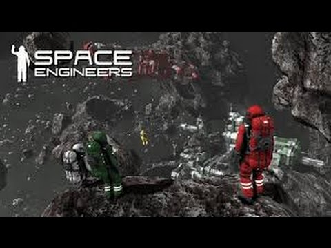 Space Engineers-Nuclearcatfish Shipyards-Carrier part 1