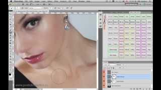 Видео-урок: Портретная ретушь кожи