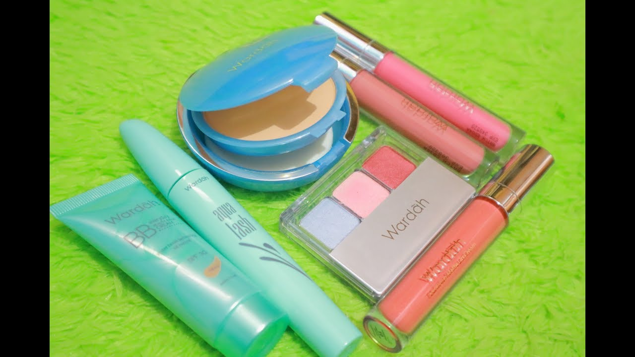 Wardah Kosmetik One Brand Makeup Tutorial Ayyunazzuyyin Makeup Indonesia Youtube