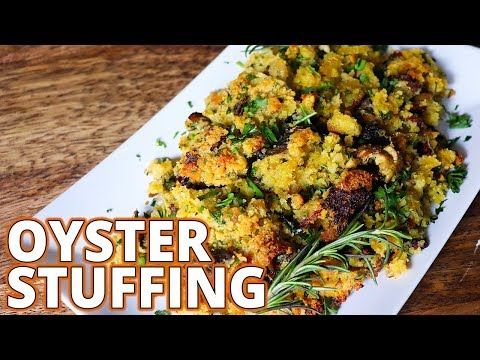 Thanksgiving Oyster Bacon Stuffing Recipe THE BEST (CDIC Ep 49)