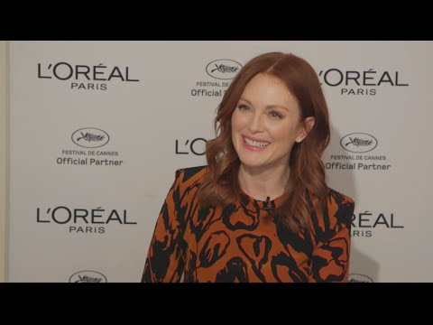 Cannes 2018: Julianne Moore on marriage, aging and her love of the festival  Encore!