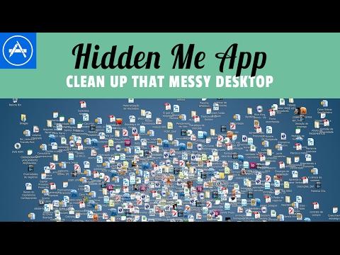 Clean up your desktop with the Hidden Me App (MAC)