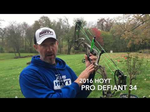 Hoyt Pro DEFIANT shooting 80 yards