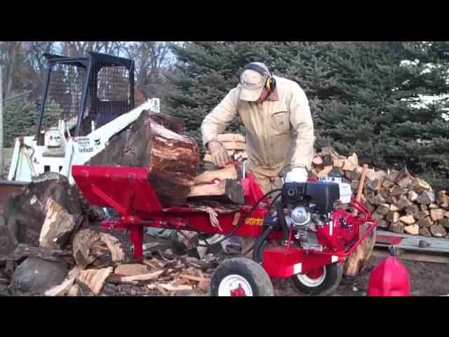 Splitfire 4490 Wood Splitter Demo