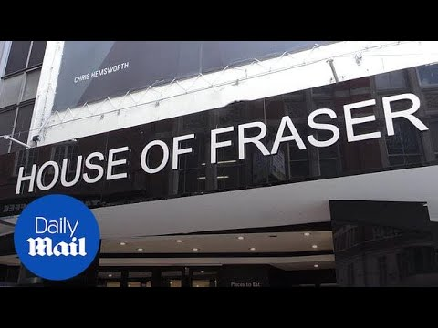 House Of Fraser To Shut 31 Stores And Put 6,000 Jobs At Risk