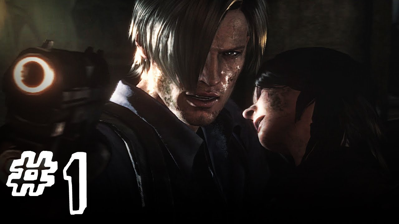 Resident Evil 6 Gameplay Walkthrough Part 1 Leon Helena