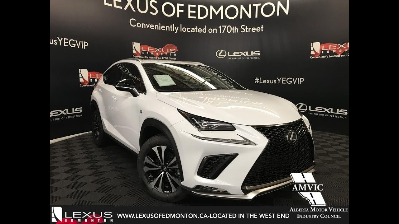 Lexus Nx F Sport 2018 >> White on Red 2018 Lexus NX 300 F Sport Series 1 Review West Edmonton Alberta - YouTube