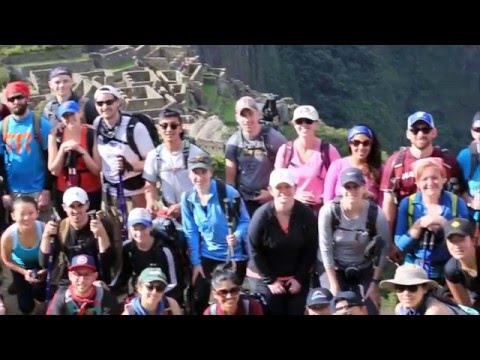 Classic Inca Trail March 2016 - Harvard Business School Group
