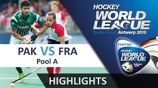 Pakistan v France Match Highlights - Antwerp Men's HWL 2015