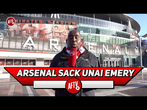 It's Official Arsenal Have Sacked Unai Emery