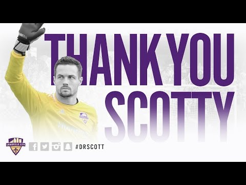 Louisville City FC Players Say Their Goodbyes To Scott Goodwin
