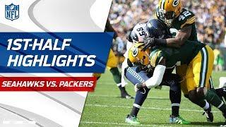 Seahawks vs. Packers First-Half Highlights | NFL Week 1