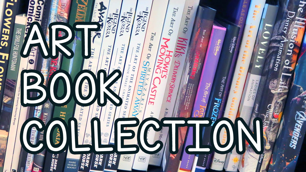 My art collection - YouTube