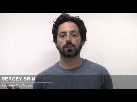 Advice from Sergey Brin