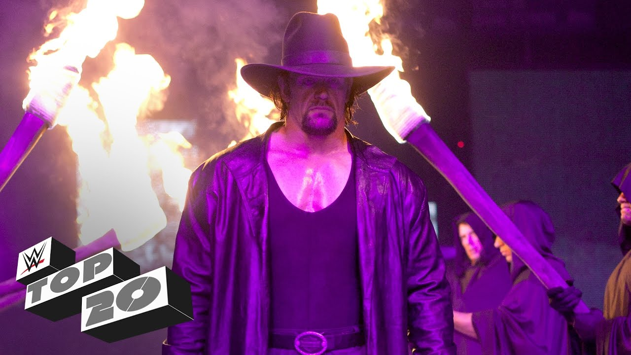 The Undertaker's 20 greatest moments - WWE Top 10 Special Edition