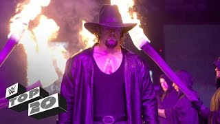 Gambar cover The Undertaker's 20 greatest moments - WWE Top 10 Special Edition