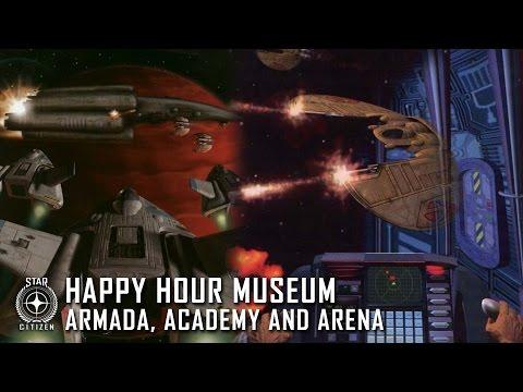Happy Hour Museum: Armada, Academy and Arena
