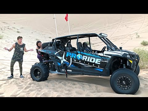 I BROKE A $60,000 POLARIS RZR!! *SORRY MOM*