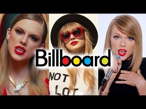 Taylor Swift - Billboard Chart History