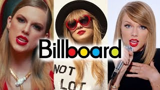 Taylor Swift - Billboard Chart History