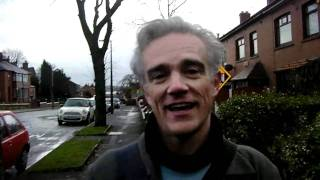Loz Kaye on the campaign trail in Oldham 2