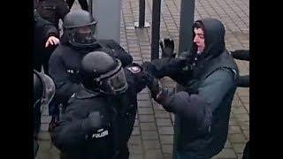 G20 Hamburg antikapitalistischer Protest eskaliert durch Polizei Gewalt Vergleich Diktatur