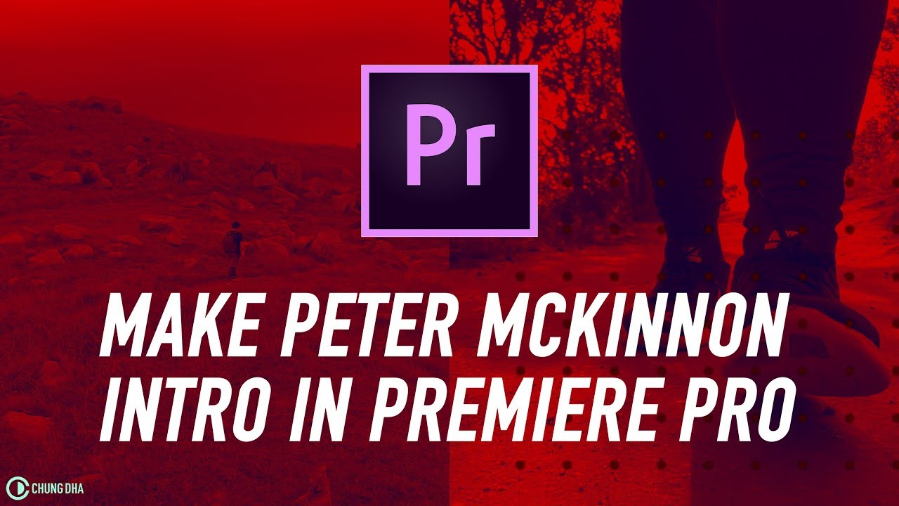 How to make Peter McKinnon Youtube Intro in Adobe Premiere Pro