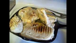 Grilled Garlic & Herb Chicken With Fried Potatoes