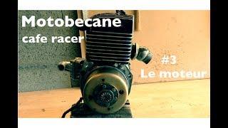MOBYLETTE CAFE RACER #3 LE MOTEUR