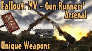 Fallout NV - Gun Runners Arsenal - Unique Weapons Guide DLC