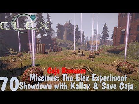 Missions: Showdown with Kallax & Save Caja - Elex