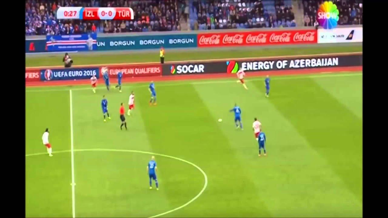 Türkiye 1 - 0 İzlanda 13.10.2015  Geniş Maç Özeti