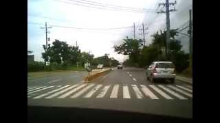 Philippine highway - fieldtrip to santa rosa