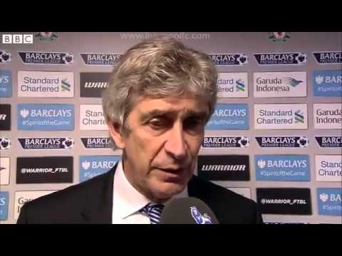 Manuel Pellegrini Post Match Interview - Liverpool 2-1 Man City 01 02 2015